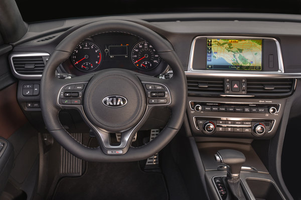 2016 Kia Optima Instrumentation