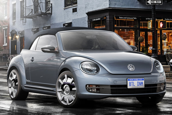 2015 Volkswagen Beetle Convertible Denim