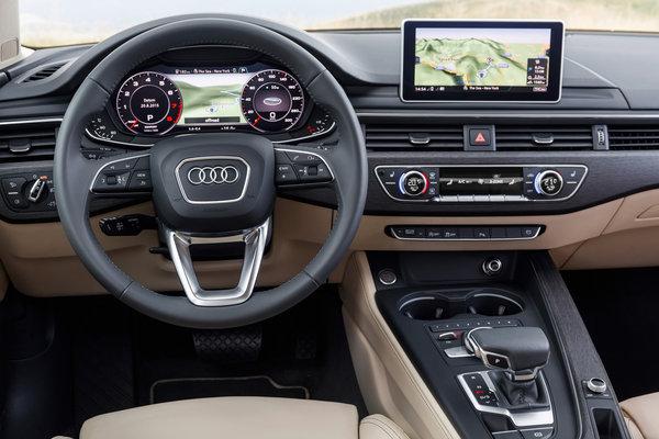 2017 Audi A4 Instrumentation