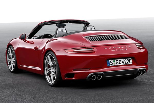 2017 Porsche Carrera convertible