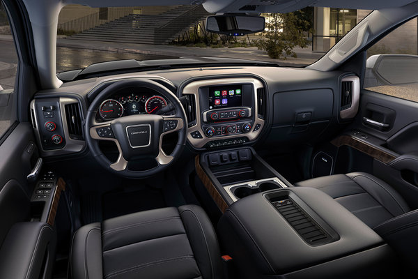 2016 GMC Sierra Denali 1500 Crew Cab Interior