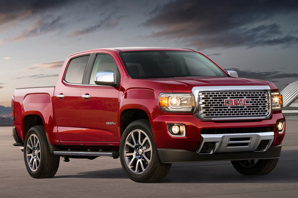 2020 GMC Canyon Crew Cab