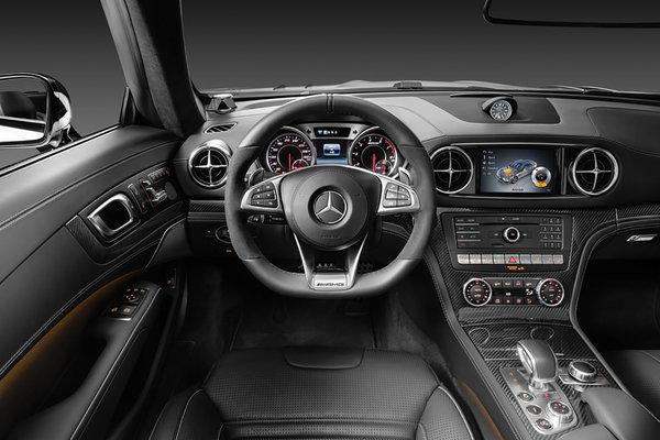 2017 Mercedes-Benz SL-Class Instrumentation