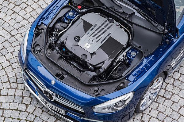 2017 Mercedes-Benz SL-Class Engine