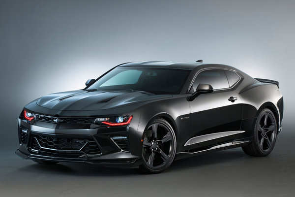 2015 Chevrolet Camaro Black