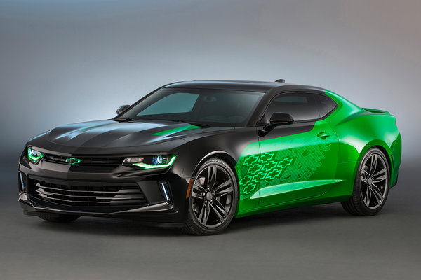 2015 Chevrolet Camaro Krypton