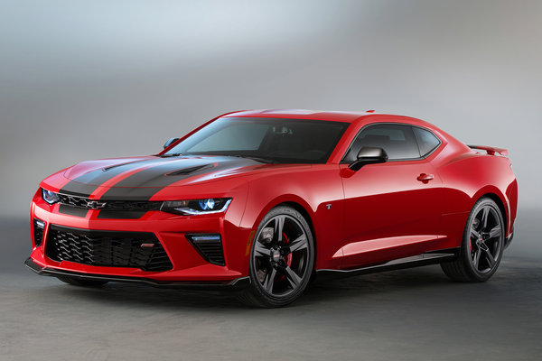 2015 Chevrolet Camaro SS Black Accent Package