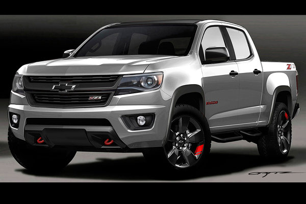 2015 Chevrolet Colorado Red Line Series