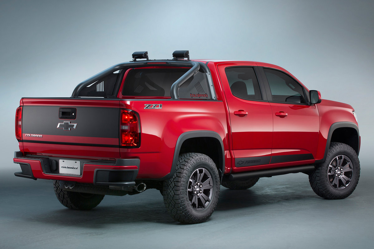 Picture of 2015 Chevrolet Colorado Z71 Trail Boss 3.0