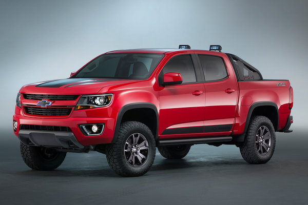 2015 Chevrolet Colorado Z71 Trail Boss 3.0