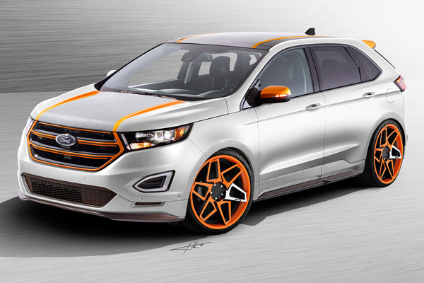 2015 Ford Edge Sport by Vaccar