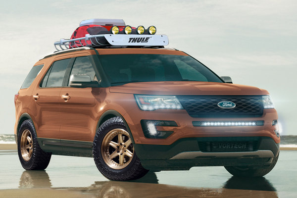 2015 Ford Explorer Sport by All Star Performance