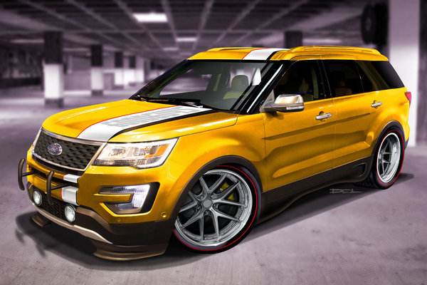 2015 Ford Explorer Sport by Goodguys Rod & Custom Association