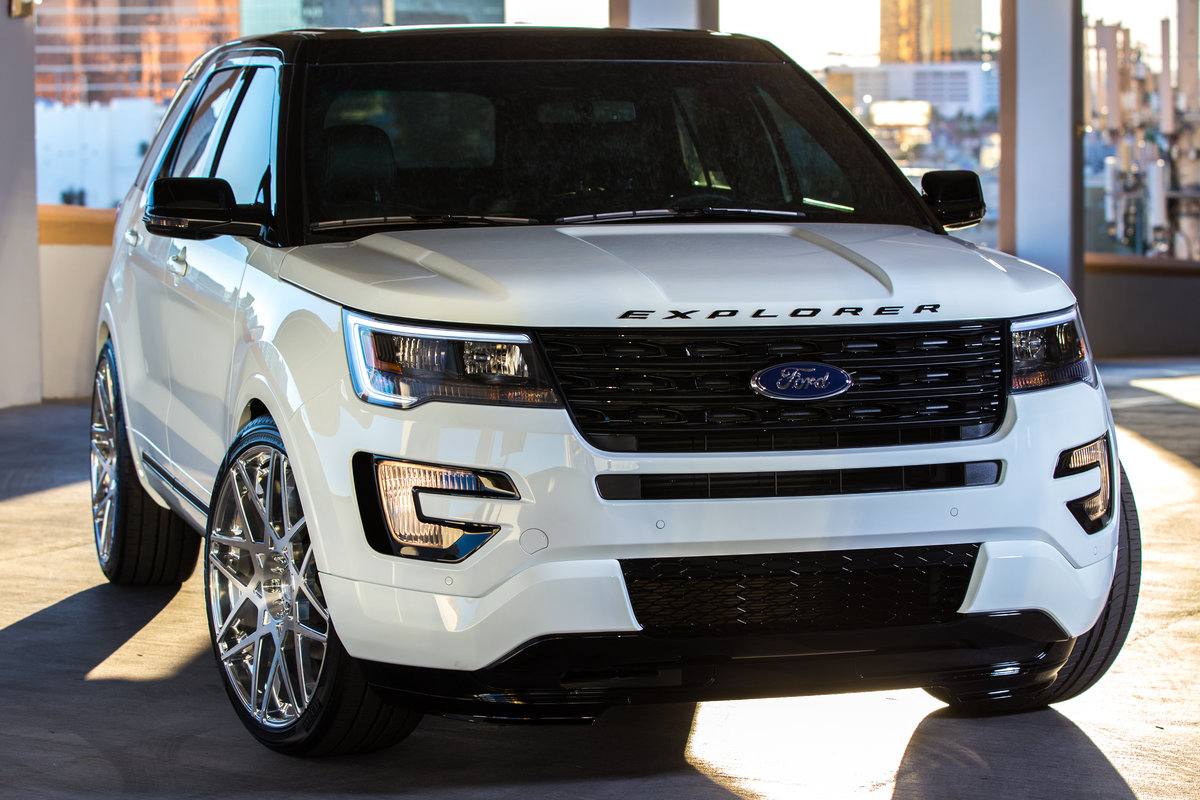 2015 ford explorer sport by mad industries pictures. Black Bedroom Furniture Sets. Home Design Ideas