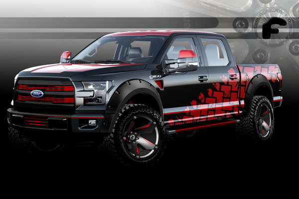 2015 Ford F-150 Supercrew by Forgiato