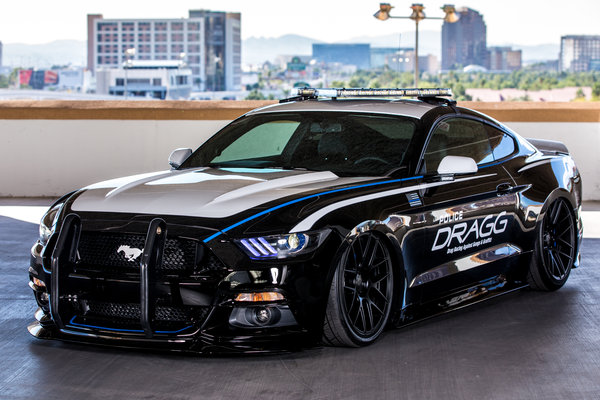 2015 Ford Mustang by Drag Racing Against Gangs & Graffiti Inc.