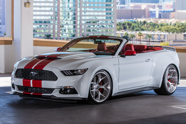 2015 Ford Mustang Convertible by CGS Performance Products