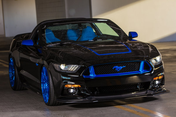 2015 Ford Mustang GT Convertible by MAD Industries