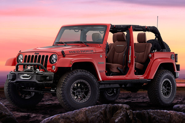 2015 Jeep Wrangler Red Rock