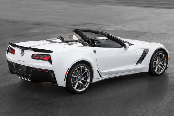 2016 Chevrolet Corvette Z06 Convertible Twilight Blue