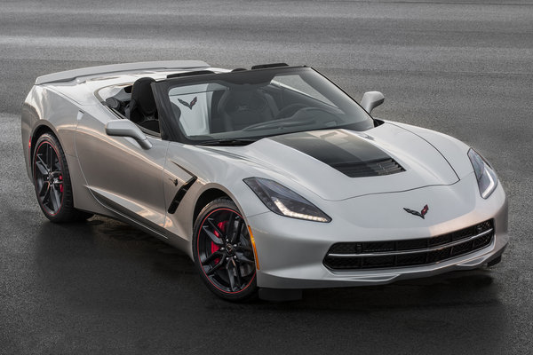 2016 Chevrolet Corvette Convertible Jet Black Suede