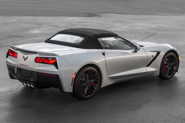 2016 Chevrolet Convertible Corvette Jet Black Suede
