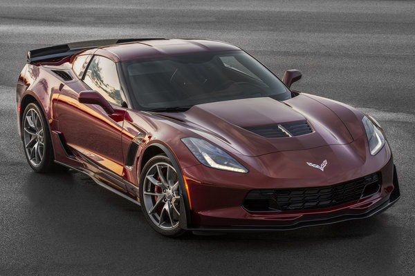 2016 Chevrolet Corvette Z06 Coupe Spice Red