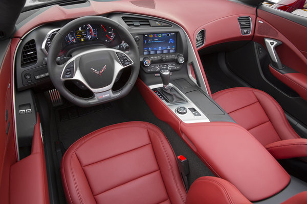 2016 Chevrolet Corvette Z06 Coupe Spice Red Interior