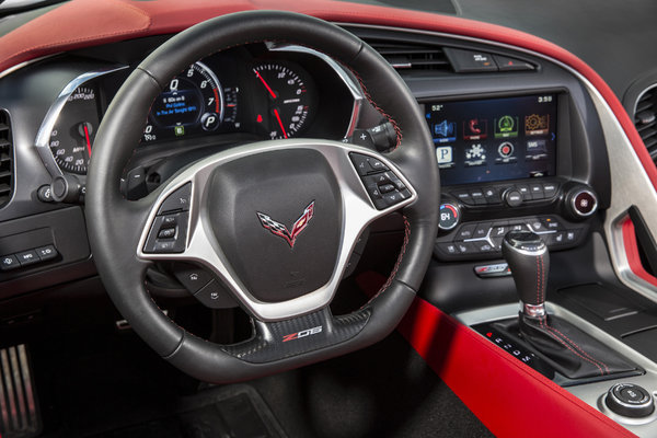 2016 Chevrolet Corvette Z06 Coupe Instrumentation