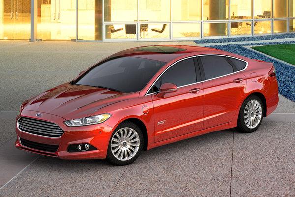 2016 Ford Fusion PHEV