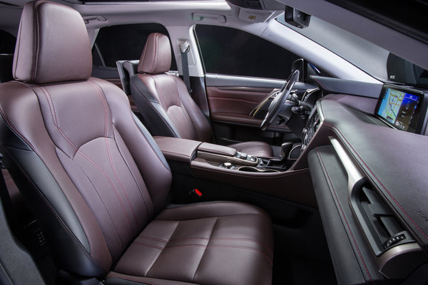 2016 Lexus RX Interior