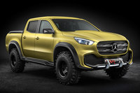 2016 Mercedes-Benz X-Class powerful adventurer