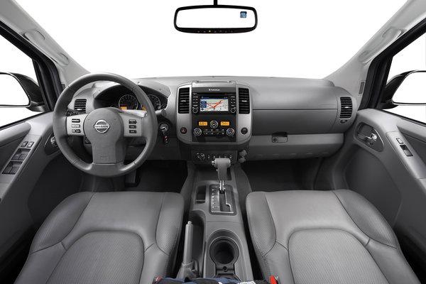 2016 Nissan Frontier Crew Cab Interior