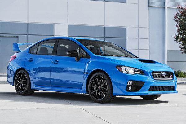 2016 Subaru WRX Series.HyperBlue
