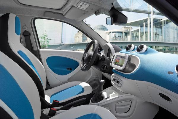 2016 Smart fortwo Interior