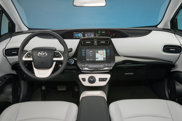 2016 Toyota Prius Three Interior