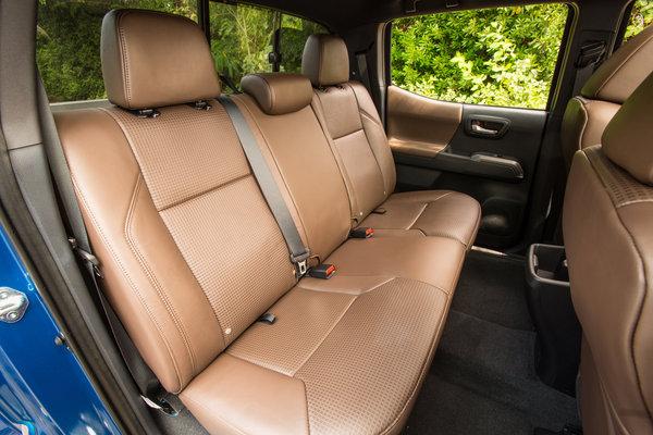 2016 Toyota Tacoma Double Cab Interior