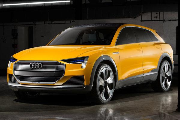 2016 Audi h-tron quattro