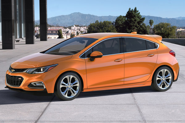 2018 Chevrolet Cruze Hatch