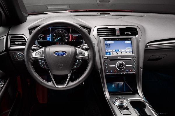 2017 Ford Fusion Instrumentation