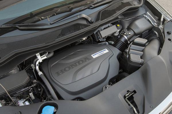 2017 Honda Ridgeline Engine
