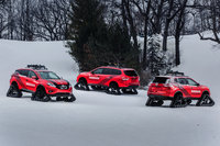 2016 Nissan Pathfinder, Rogue and Murano Winter Warrior concepts