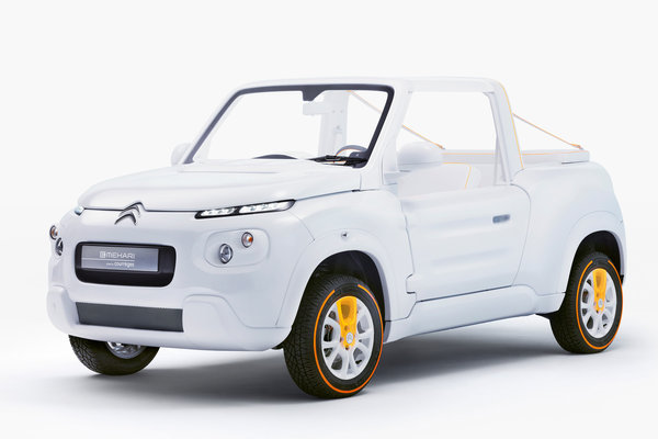 2016 Citroen E-MEHARI styled by Courreges