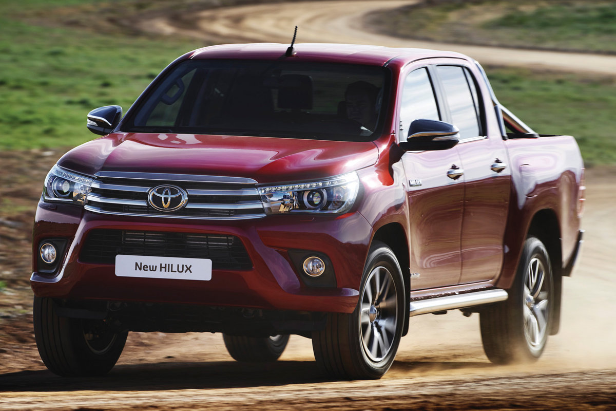 Picture Of 2017 Toyota Hilux