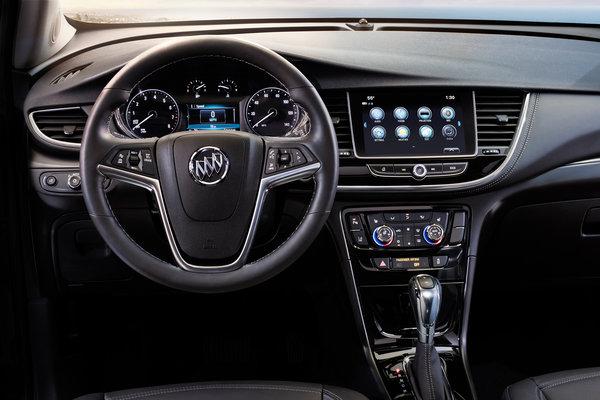 2017 Buick Encore Instrumentation