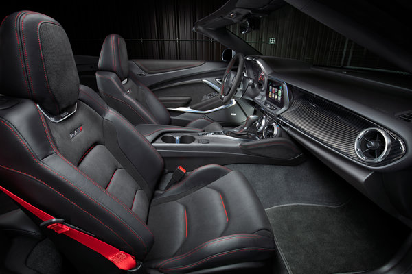 2017 Chevrolet Camaro Convertible ZL1 Interior