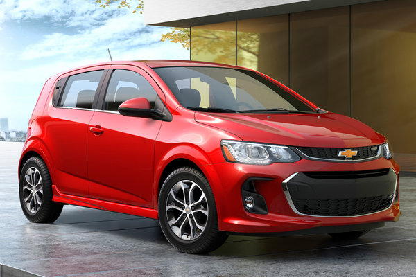 2017 Chevrolet Sonic 5d