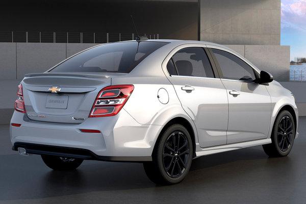 2017 Chevrolet Sonic sedan