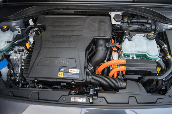 2017 Hyundai Ioniq Hybrid Engine