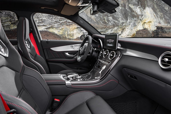 2017 Mercedes-Benz GLC-Class AMG GLC43 Interior